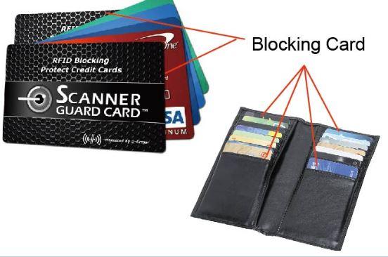 rfid blocker karte Mit RFID Blocking Cards das Auslesen der Karten verhindern