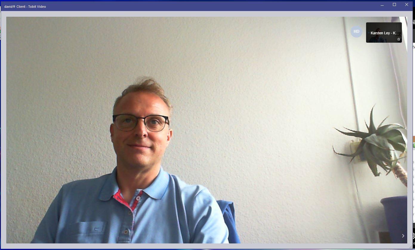 Tobit david3 Videokonferenz Update