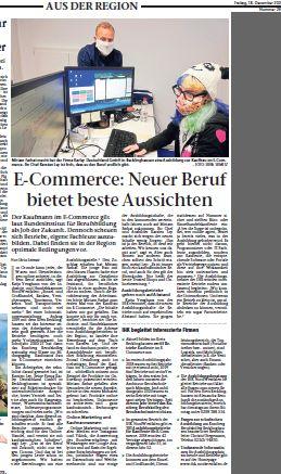 Neuer Beruf E-Commerce Kauffrau/Mann